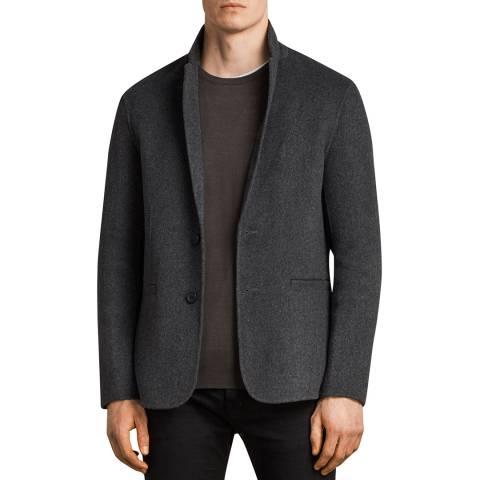 AllSaints Charcoal Ferme Blazer