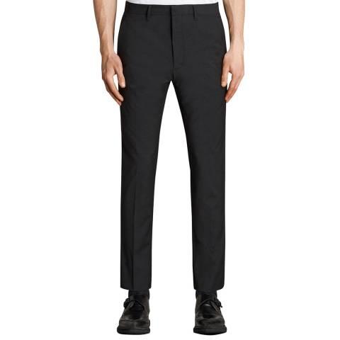 AllSaints Black Kente Suit Trousers