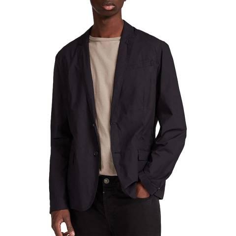 AllSaints Black Rohan Blazer