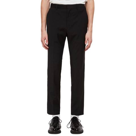 AllSaints Black Klint Suit Trousers