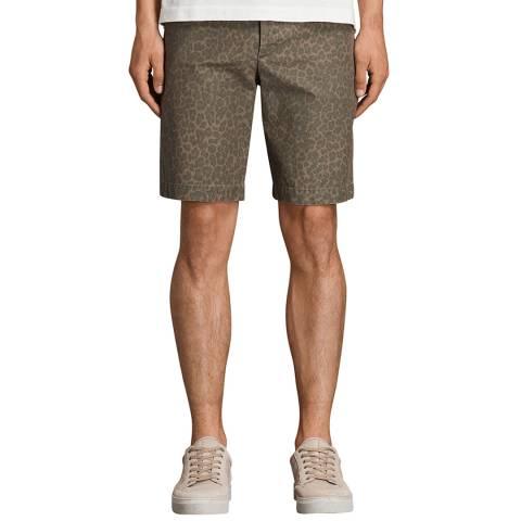 AllSaints Leopard Print Kanzi Shorts