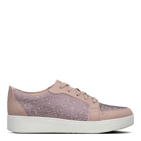 FitFlop Mink Collet Crystal Sneakers