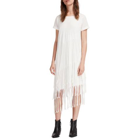 AllSaints Chalk Tami Layer Dress