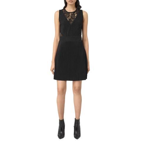 AllSaints Black Kula Dress
