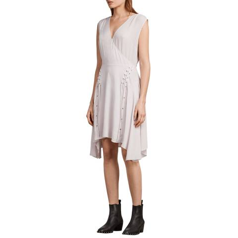 AllSaints Blush Miller Dress