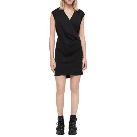 AllSaints Black Callie Dress