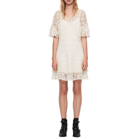 AllSaints Oyster Lula Nisha Dress