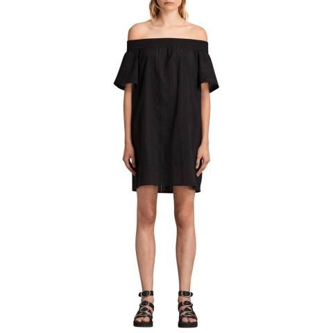 AllSaints Black Livia Dress