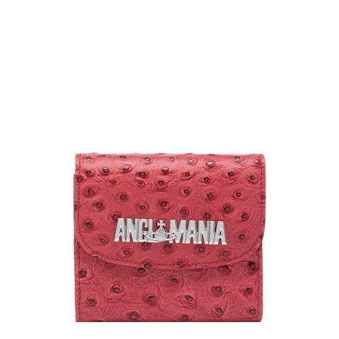 Vivienne Westwood Red Johanna Medium Wallet