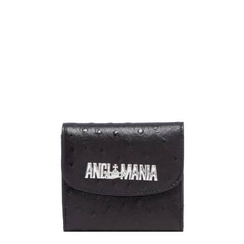 Vivienne Westwood Black Johanna Medium Wallet