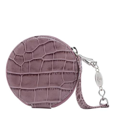 Vivienne Westwood Lilac Lisa Round Coin Case