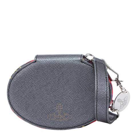 Vivienne Westwood Grey Vicky Oval Coin Case