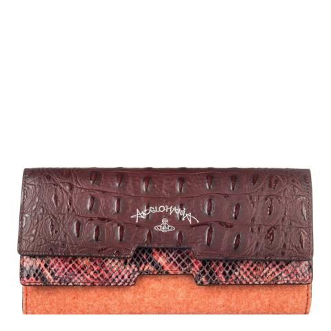 Vivienne Westwood Red Susie Medium Wallet