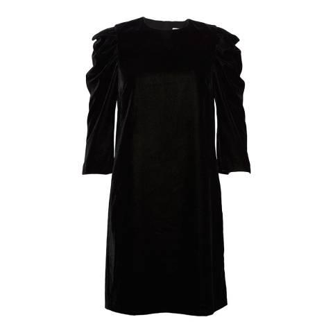Great Plains Black Puff Shoulders Dresses