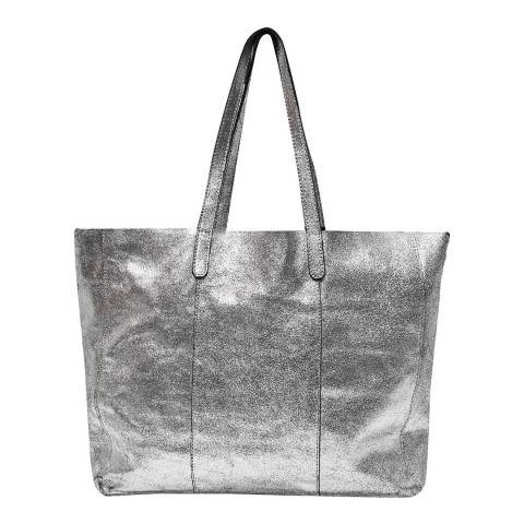 Great Plains Silver Square Tote
