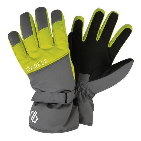Dare2B Aluminium/Citron Mischievous Gloves