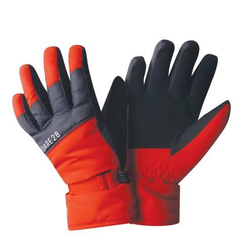 Dare2B Fiery Red/Ebon Mischievous Gloves