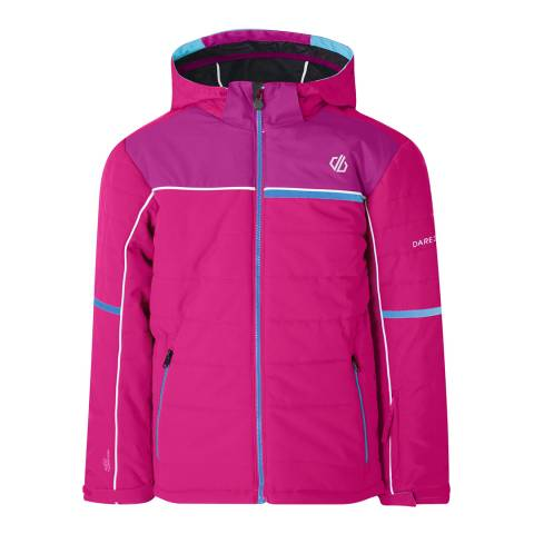 Dare2B Pink/Fuchsia Initiator Waterproof Insulated Jacket