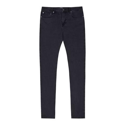 Reiss Black Zepplin Slim Jeans