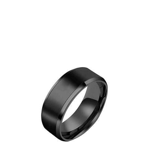 Stephen Oliver Black Band Ring