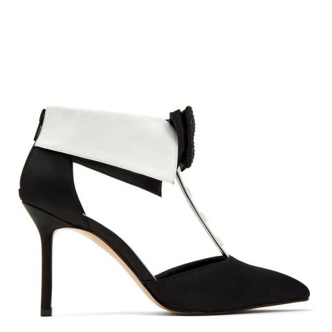 Katy Perry Black Adella Bow Tie Satin Pump