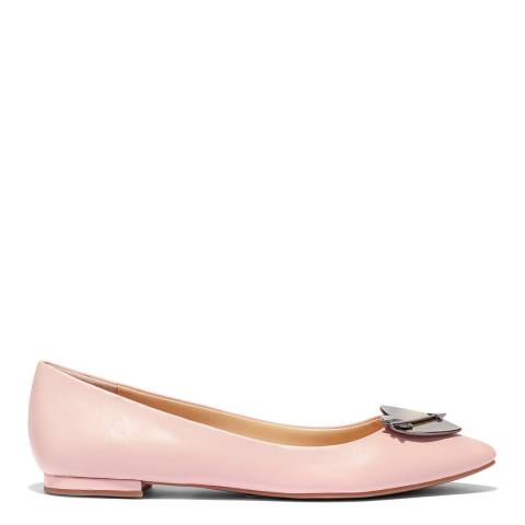 Katy Perry Pink Cupid Leather Ballet Flat