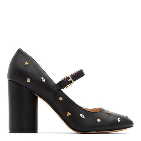 Katy Perry Black Ophelia Smooth Leather Shoes