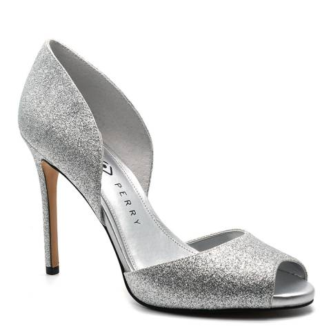 Katy Perry Silver Smooth Glitter Sukie Sandals