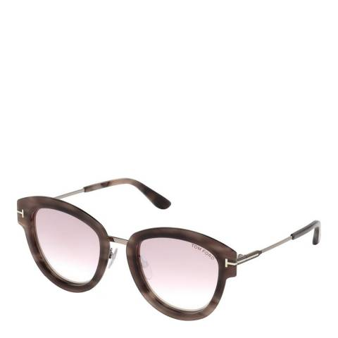 Tom Ford Women's Brown/Pink Tom Ford Sunglasses 52mm