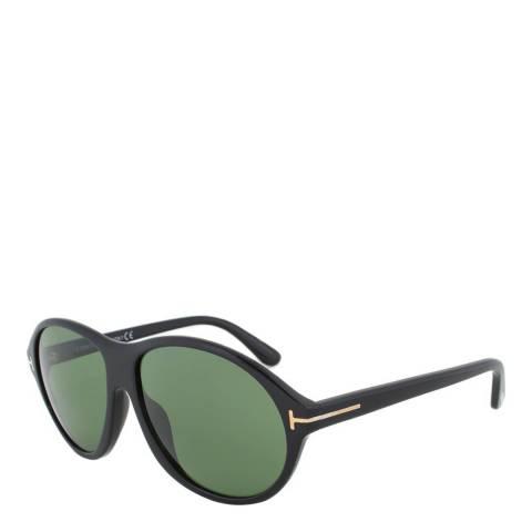 Tom Ford Women's Black/Green Tom Ford Sunglasses 60mm