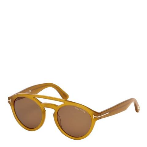 Tom Ford Women's Yellow Tom Ford Sunglasses 50mm