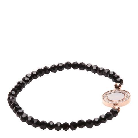 Liv Oliver 18K Rose Gold Mother Of Pearl Bracelet
