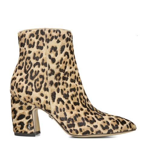 Sam Edelman Leopard Hilty Ankle Bootie