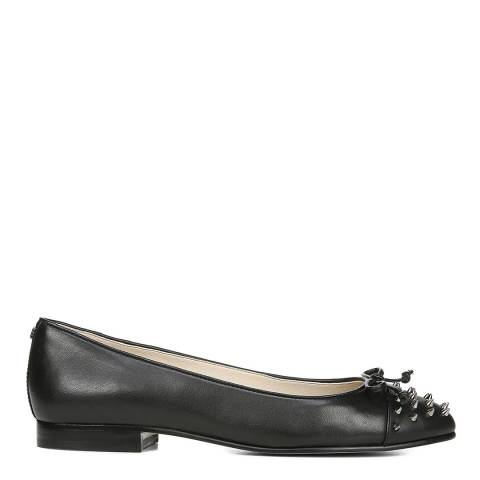 Sam Edelman Black Leather Mirna Studded Ballet Flats