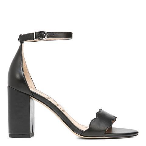 Sam Edelman Black Suede Odila Heeled Sandals