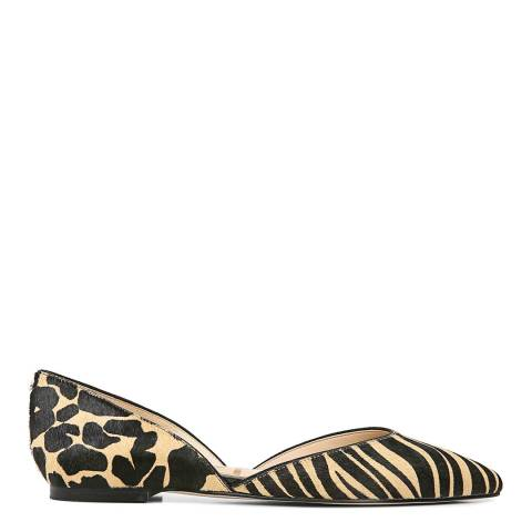 Sam Edelman Multi Safari Zebra Print Rodney Flats
