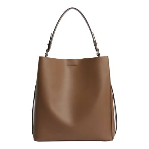 AllSaints Chocolate Voltaire NS Tote Bag