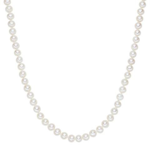 The Pacific Pearl Company White Pearl Necklace