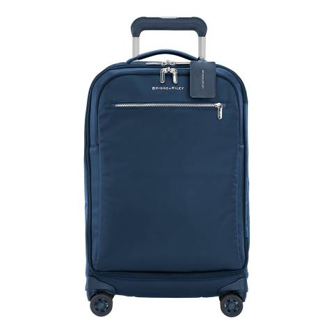 Briggs & Riley Navy Rhapsody Tall Carry On Spinner