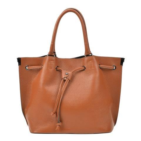 Renata Corsi Brown Leather Handbag