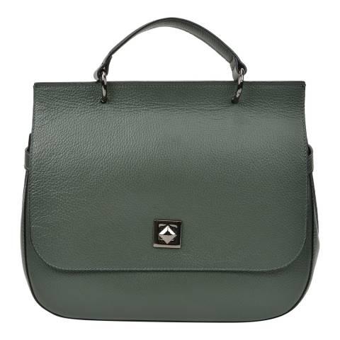 Renata Corsi Green Leather Handbag