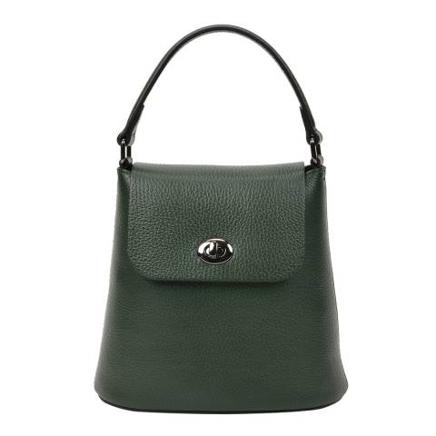 Renata Corsi Green Leather Handbag