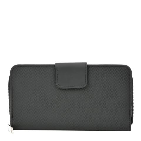 Renata Corsi Black Zipped Wallet
