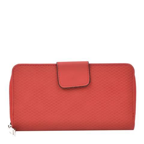 Renata Corsi Red Zipped Wallet