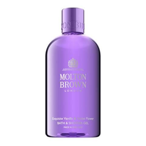 Molton Brown Vanilla & Violet Flower Body Wash, 300ml