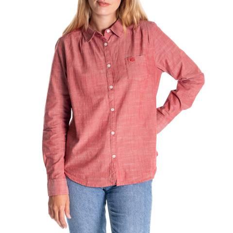 RUPERT & BUCKLEY Pink Tora Oxford Boyfriend Fit Shirt
