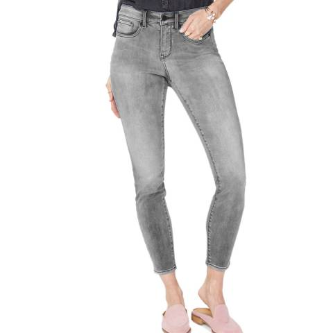 NYDJ Light Grey Ami Skinny Stretch Jeans