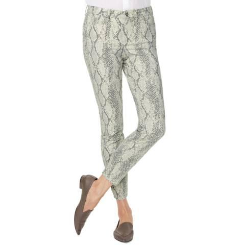 NYDJ Snake Print Ami Stretch Jeans