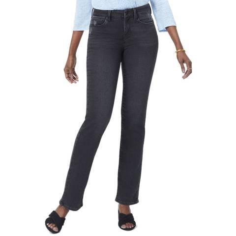 NYDJ Black Wash Marilyn Stretch Jeans