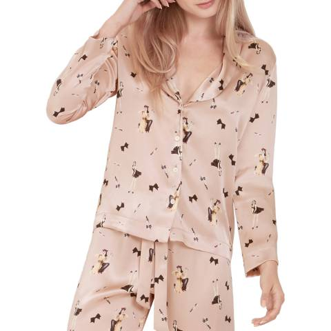 Diane Houston Dolly Print Ella PJ Top
